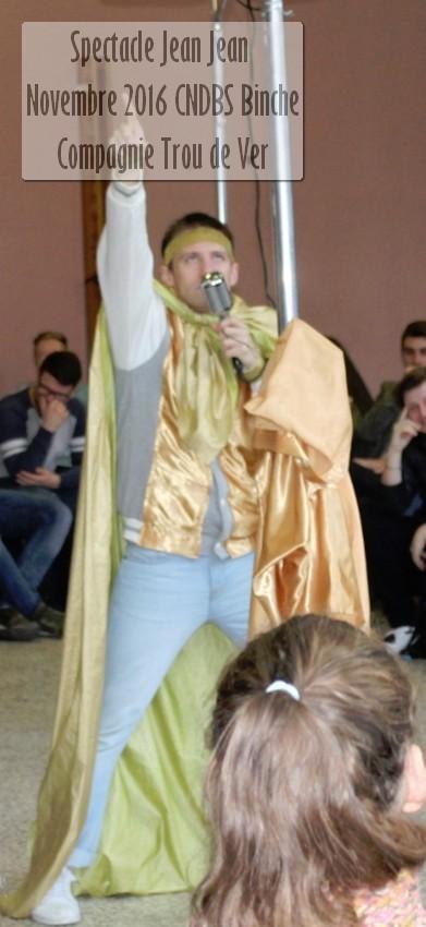 Jean Jena de la Compagnie Trou de Ver